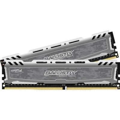 Crucial Ballistix Sport LT DDR4 2400Hz 2x4GB (BLS2C4G4D240FSB)