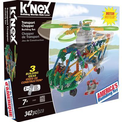 Knex Building Sets Transport Chopper 11413