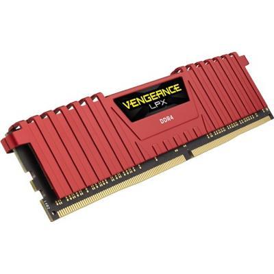 Corsair Vengeance LPX Red DDR4 3866MHz 4x4GB (CMK16GX4M4B3866C18R)
