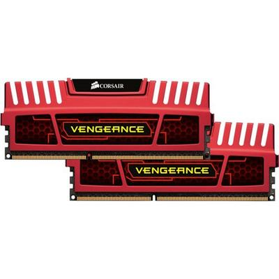 Corsair Vengeance Red DDR3 1600MHz 2x4GB (CMZ8GX3M2A1600C9R)