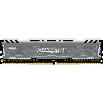 Crucial Ballistix Sport LT DDR4 2400Hz 4GB Gray (BLS4G4D240FSB)