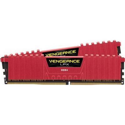 Corsair Vengeance LPX Red DDR4 3600MHz 2x8 GB (CMK16GX4M2B3600C18R)