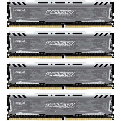 Crucial Ballistix Sport LT DDR4 2400MHz 4x16GB (BLS4C16G4D240FSB)