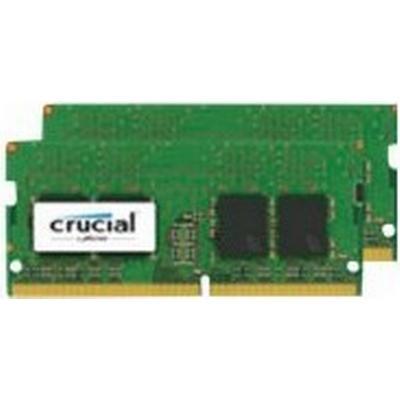 Crucial DDR4 2400MHz 2x4GB (CT2K4G4SFS824A)