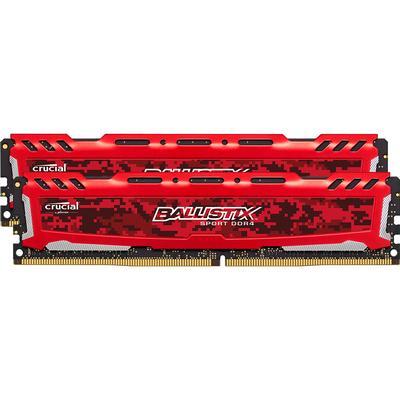 Crucial Ballistix Sport LT Red DDR4 2666MHz 2x16GB (BLS2C16G4D26BFSE)