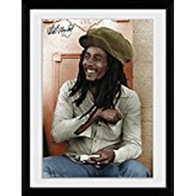 GB Eye Bob Marley Rolling Collector 30x40cm Affisch