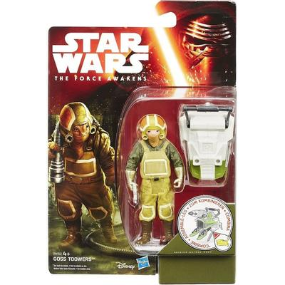 """Hasbro Star Wars the Force Awakens 3.75"""" Figure Forest Mission Goss Towers B4162"""