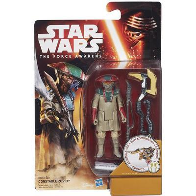 "Hasbro Star Wars the Force Awakens 3.75"" Figure Desert Mission Constable Zuvio B3968"