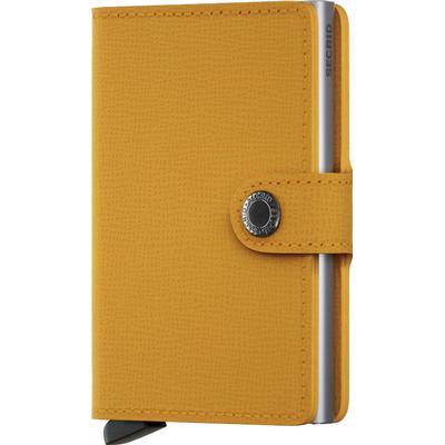 Secrid Mini Wallet - Crisple Amber