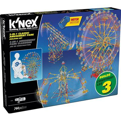 Knex 3 in 1 Classic Amusement Park Building Set 17035
