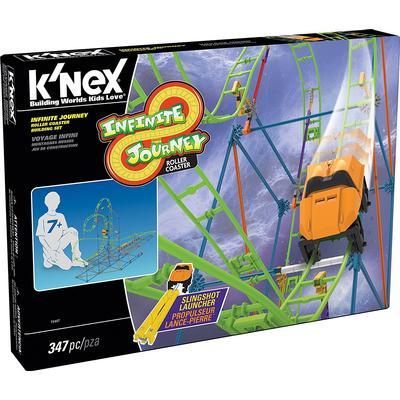 Knex Infinite Journey Roller Coaster Building Set 15407