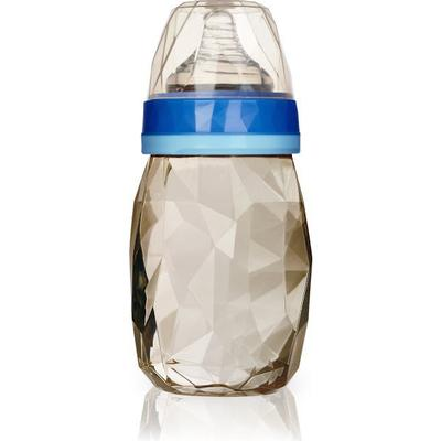Kidsmebaby PPSU Diamond Wide Neck Milk Bottle 240ml