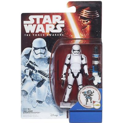 "Hasbro Star Wars the Force Awakens 3.75"" Figure Snow Mission First Order Stormtrooper B3964"