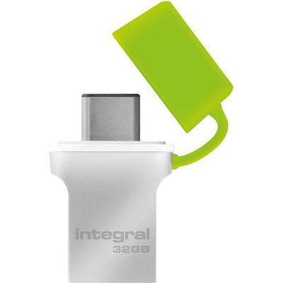 Integral Fusion 32GB USB 3.0 Type-A/Type-C