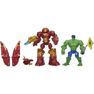 Hasbro Marvel Super Hero Mashers Hulkbuster vs Hulk Mash Pack B1916