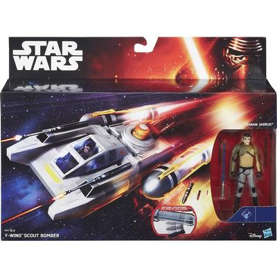 "Hasbro Star Wars Rebels 3.75"" Vehicle Y-Wing Scout Bomber B3677"