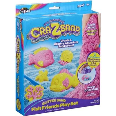 Character Cra Z Sand Glitter Fish Play Set