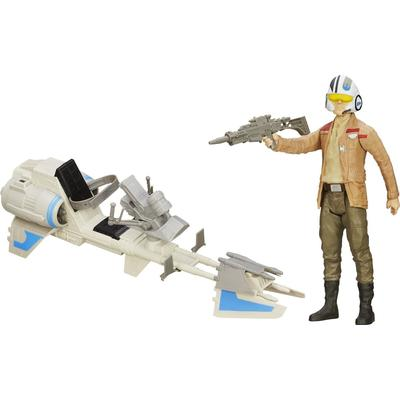 "Hasbro Star Wars the Force Awakens 12"" Speeder Bike B3918"
