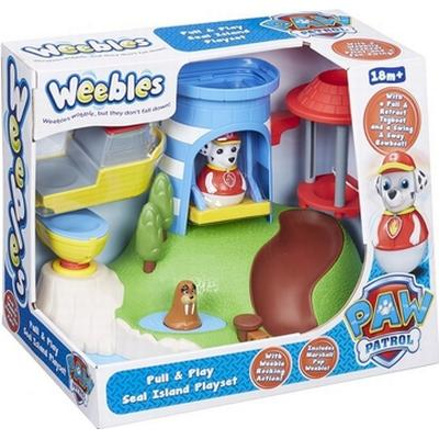 Character Paw Patrol Weebles Pull & Play Seal Island Play Set