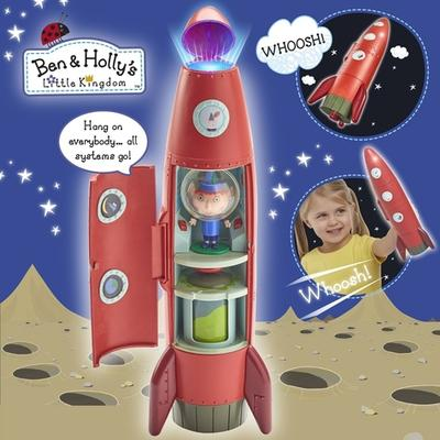 Character Ben & Holly The Elf Rocket