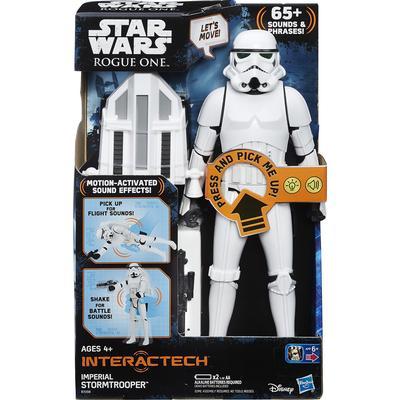 Hasbro Star Wars Interactech Imperial Stormtrooper Figure B7098