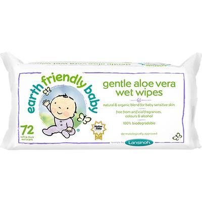 Lansinoh Gentle Aloe Vera Wet Wipes 72pcs