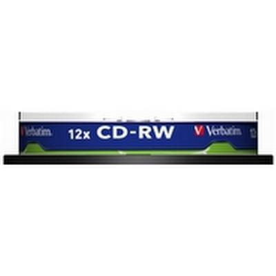 Verbatim CD-RW 700MB 12x Spindle 10-Pack