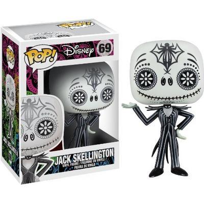 Funko Pop! Disney Nightmare Before Christmas Day of the Dead Jack Skellington