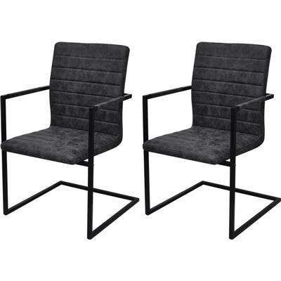 vidaXL Cantilever Dining Chair Köksstol
