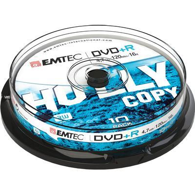 Emtec DVD+R 4,7GB 16x Spindle 10-Pack