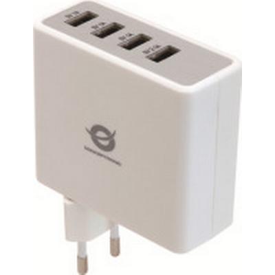 Conceptronic CUSBPWR51A 4-Port USB 2.0 Extern