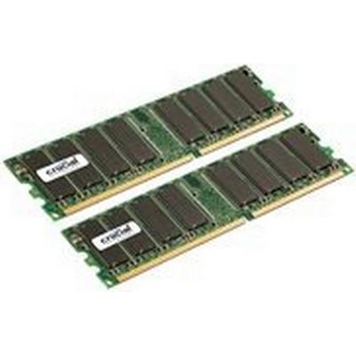 Crucial DDR 400MHz 2x512MB (CT2KIT6464Z40B)