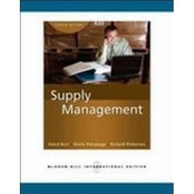 Supply Management (Int'l Ed) (Häftad, 2009)