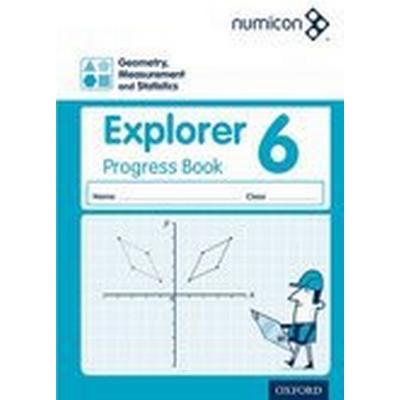 Numicon: Geometry, Measurement and Statistics 6 Explorer Progress Book (Häftad, 2016)