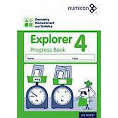 Numicon: Geometry, Measurement and Statistics 4 Explorer Progress Book (Häftad, 2014)
