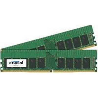 Crucial DDR4 2400MHz 4x16GB ECC (CT4K16G4WFD824A)