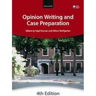 Opinion Writing and Case Preparation (Häftad, 2016)