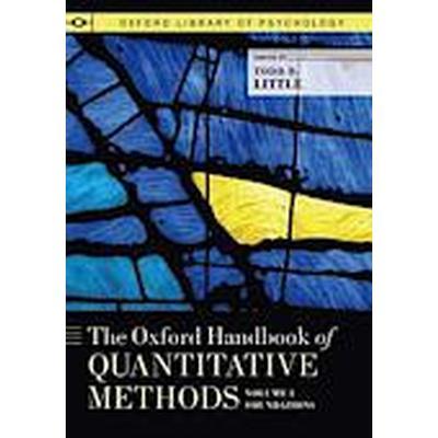 The Oxford Handbook of Quantitative Methods, Volume 1 (Häftad, 2014)
