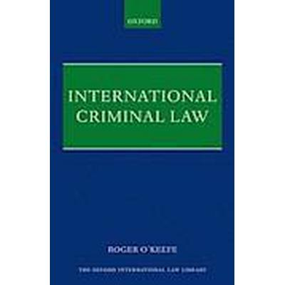 International Criminal Law (Inbunden, 2015)