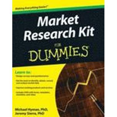 Market Research Kit For Dummies (Häftad, 2010)