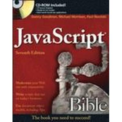 JavaScript Bible 7th Edition Book/CD Package (, 2010)
