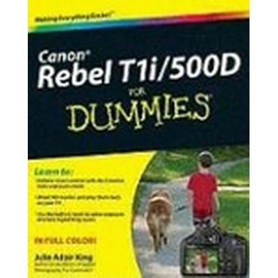 Canon EOS Rebel T1i/500D for Dummies (Häftad, 2009)