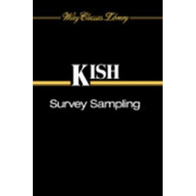 Survey Sampling (Häftad, 1995)