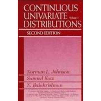 Continuous Univariate Distributions (Inbunden, 1995)