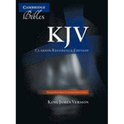 KJV Clarion Reference Edition KJ486:XE Black Goatskin Leather (Inbunden, 2011)