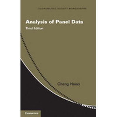 Analysis of Panel Data (Häftad, 2014)