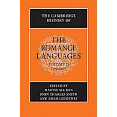 The Cambridge History of the Romance Languages: Volume 2, Contexts (Inbunden, 2013)