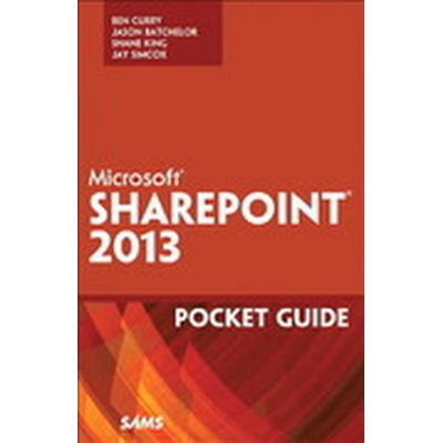 Microsoft SharePoint 2013 Pocket Guide (Häftad, 2013)