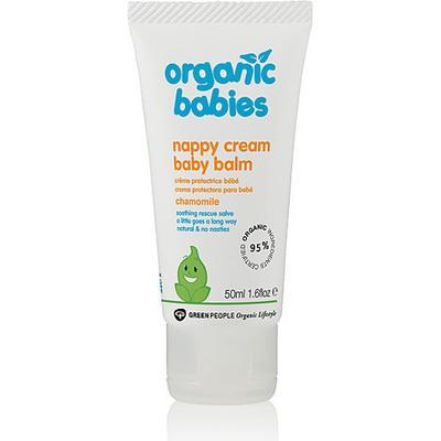 Green People Organic Babies Nappy Cream Baby Balm 50ml