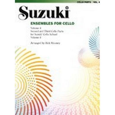 Ensembles for Cello, Vol 4 (Häftad, 2008)